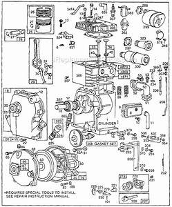 Briggs And Stratton 80300 Series Parts List And Diagram