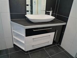 Creer Salle De Bain : beautiful creer meuble salle de bain photos design ~ Dailycaller-alerts.com Idées de Décoration