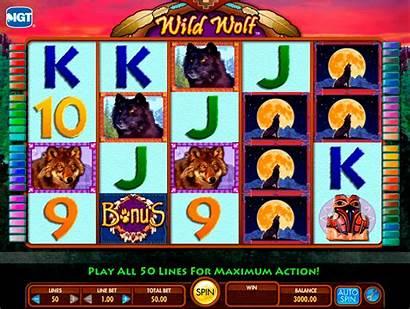 Wolf Slot Slots Wild Casino Igt Machine
