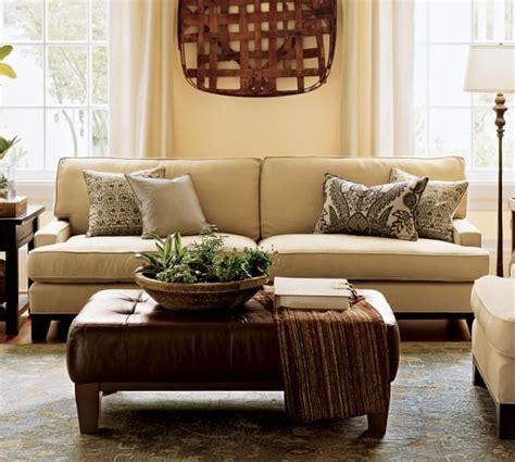 pottery barn sleeper sofa seabury upholstered sleeper sofa with robin mattress