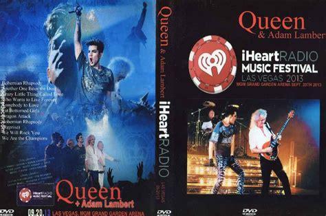 adam lambert dvd queen adam lambert live iheartradio las vegas 13 dvd