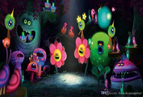 xft trolls birthday party  concert cave custom