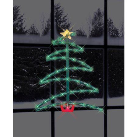impact innovations  lighted christmas tree silhouette