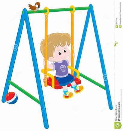 Swing Clipart Boy Swings Swinging Clip Friendly