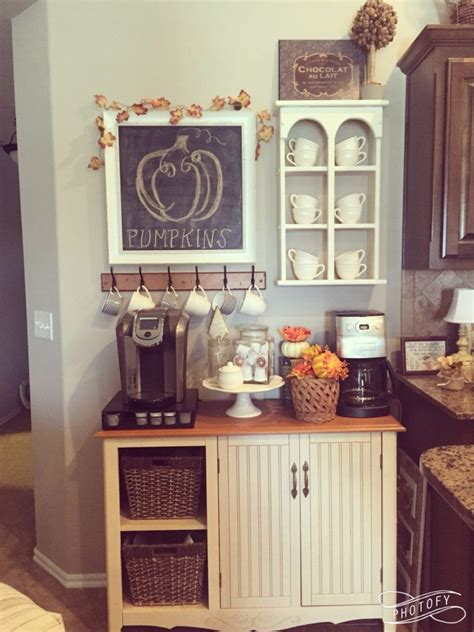 Coffee lovers are so spoiled for choice, it is no wonder you might want to decorate your kitchen with representations of this marvelous drink. 20 Coffee Station Ideas For Your Home Decor - Craftsonfire in 2020 | Coffee decor kitchen, Cafe ...