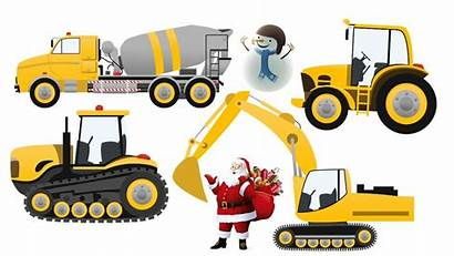 Tractor Clipart Cat Excavator Truck Toys Discover