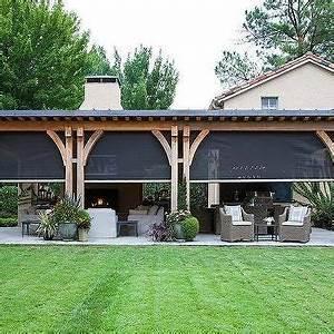 moustiquaire en toile deroulante covered patio with With deco de terrasse exterieur 8 decoration idee rideau velux