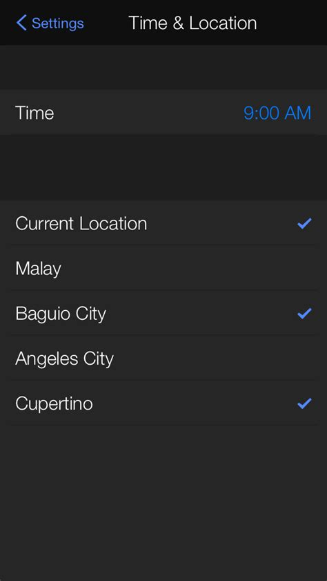weather app settings yahoo weather updated with daily customizable
