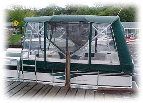 Boat Canvas Enclosure Price by Looking For A Pontoon Boat Enclosure Budget Pontoon