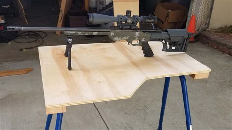diy shooting bench  rugged buddy legs findrange
