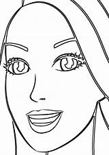 Mouth Coloring Pages sketch template