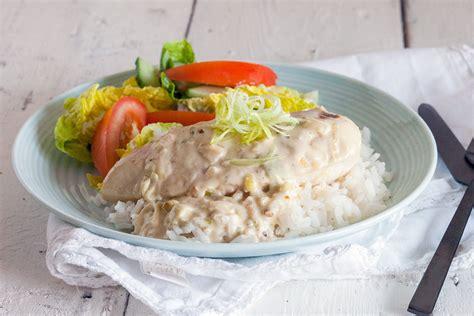 sauce boursin cuisine chicken with boursin sauce ohmydish com