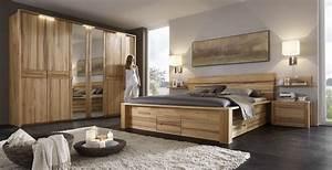 Schlafzimmer Sofia Massiv Kernbuche Gewachst