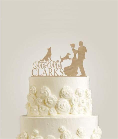 shabby chic cake topper rustic cake topper with two dogs mr and mrs cake topper shabby chic cake topper wedding cake