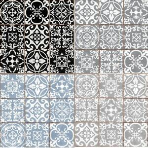 traditional tile transfers stickers wall vintage victorian