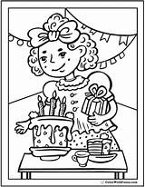 Birthday Coloring Sheets Pdf sketch template