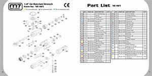 Ratchet Parts Diagram