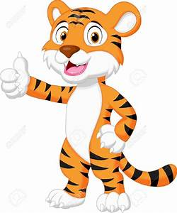 Hand clipart tiger - Pencil and in color hand clipart tiger