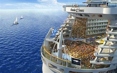 Oasis Caribbean Seas Royal Wide Wallpapers