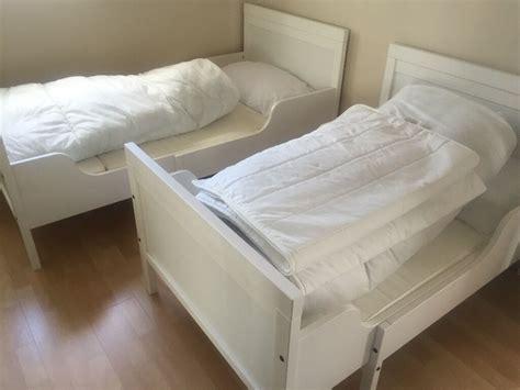 Ikea Sundvik Bett by Ikea Sundvik White Extendable Bed Frame With Slatted Base