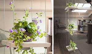 Plantes à Suspendre : tuto plante verte fabriquez une tag re fleurie en ~ Premium-room.com Idées de Décoration