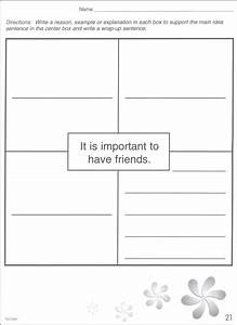 blank four square writing images With four square writing method template