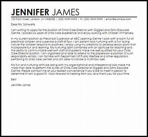 child care director cover letter sample cover letter With cover letter for child care