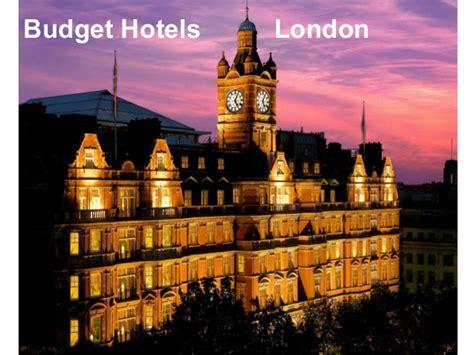 budget hotels  london