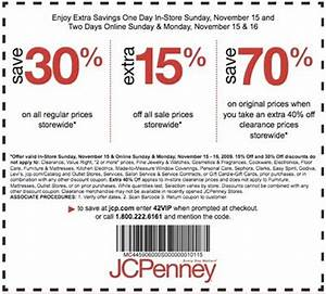 Jcpenney printable coupons coupon codes blog for Homemakers furniture coupons
