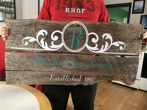 25+ Best Ideas About Barn Wood Signs On Pinterest