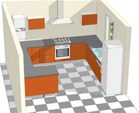 exemple implantation cuisine modele cuisine ouverte avec bar 8 implantation cuisine