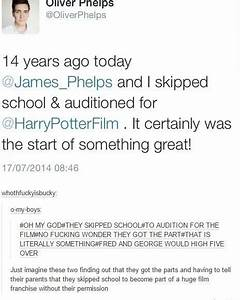 This revelation from the twins. in 2019 | Harry Potter ...