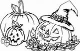 Coloring Pages Gourd Pumpkin Printable Getcolorings sketch template