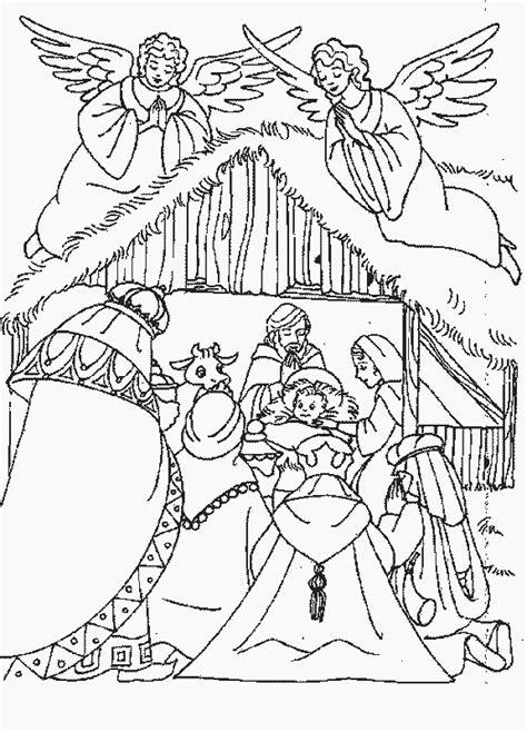 De Drie Wijzen Kleurplaat by Kleurplaten En Zo 187 Kleurplaat De Drie Koningen Bij De