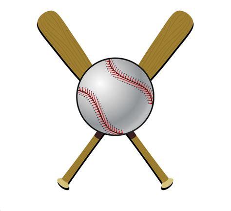 crossed baseball bat clip art  clip art