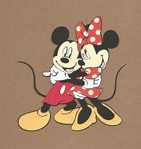 Mickey Und Minnie Mouse : 1 5 1 2 inch tall hugging mickey and minnie mouse cricut die ~ Eleganceandgraceweddings.com Haus und Dekorationen