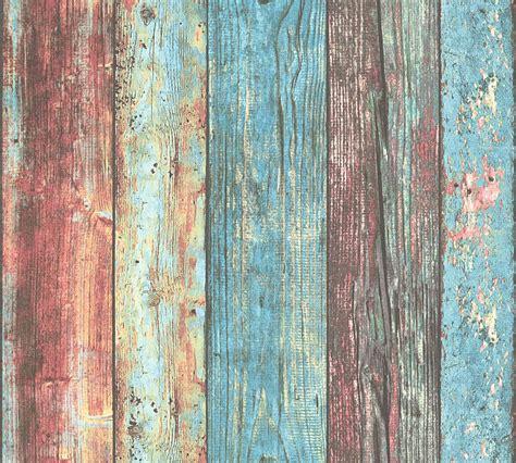 Tapete Holz Vintage by Vliestapete Holz Optik Vintage Bunt As Creation 30723 1