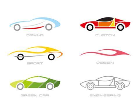 Colorful Fashion Sports Car Logo Design Vector Free Download