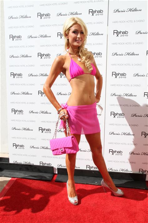"""Paris Hilton at """"Rehab"""" The Ultimate Daytime Pool Party"""
