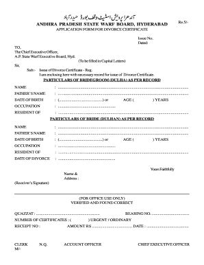 talaq paper form fill   sign printable  template signnow