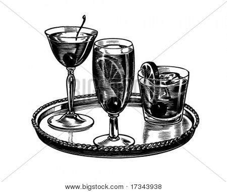 vintage cocktail party clipart retro cocktail party clipart 10