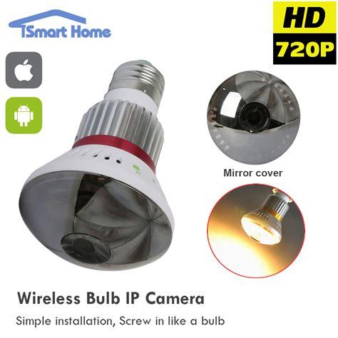 best smart bulb l pinhole surveillance 720p mini