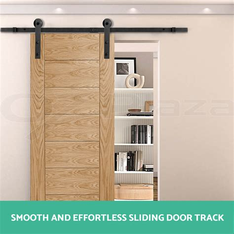 home hardware interior doors 2m sliding barn door hardware track set home office