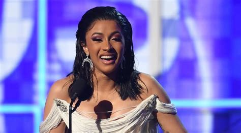 [WATCH] Cardi B's 2019 Grammys Best Rap Album Acceptance ...