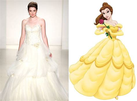 Belle From Alfred Angelo's Disney Princess Wedding Gowns