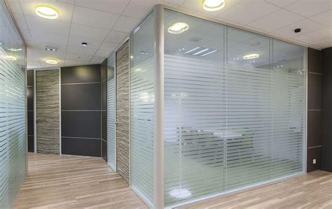 bureau vitre installation de cloisons de bureau arbet aménagement