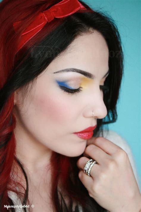 snow white  snow white inspired makeup tutorial