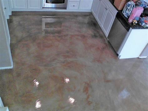 33 best images about Brown Stained Concrete Floors on