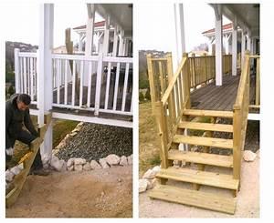 Fabriquer Son Escalier : fabriquer escalier exterieur bois 48851 ~ Premium-room.com Idées de Décoration