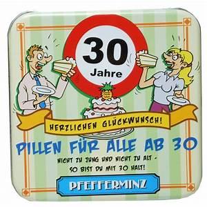 30 Dinge Zum 30 Geburtstag : ballonsupermarkt pfefferminz pillen 30 jahre zum 30 geburtstag geburtstag 30 ~ Sanjose-hotels-ca.com Haus und Dekorationen